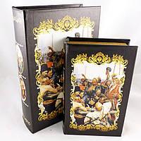 Скриньки у вигляді книги Запорожці