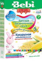 Молочная кукурузная каша Bebi Premium® 200г