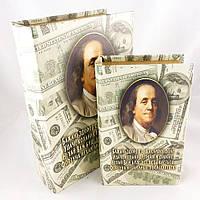 Шкатулки с доларовым принтом