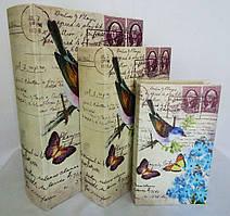 Скринька книга н-р з 3х – Птах і сині квіти