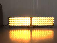 Стробоскопы LED 2-44 оранжевые 12-24V., фото 1