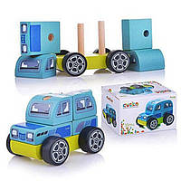 Деревянная игрушкаДжип13180