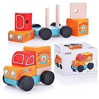 Деревянная игрушка Машинка13166