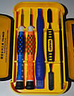 YaXun Набор инструментов и отверток для ремонта телефонов Подарунковий набір викруток iphone, фото 7