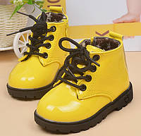 Черевики дитячі осінні лаковані жовті 20035 0acf3d75d727a