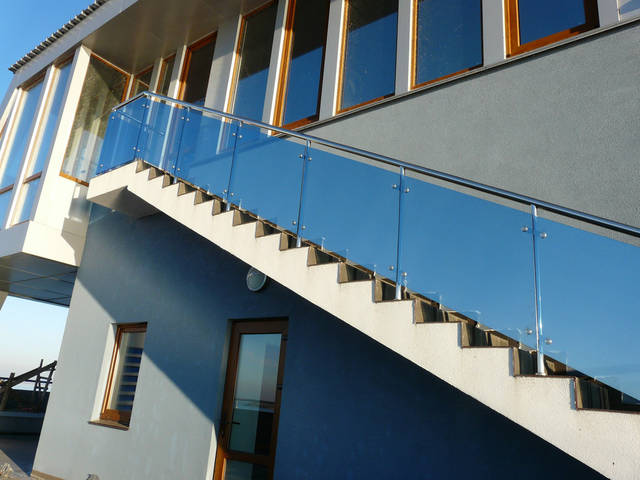 Применение стекла в строительстве.