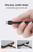 Кабель быстрой зарядки Cafele Type C 2A Black (SD3-02-04), фото 8