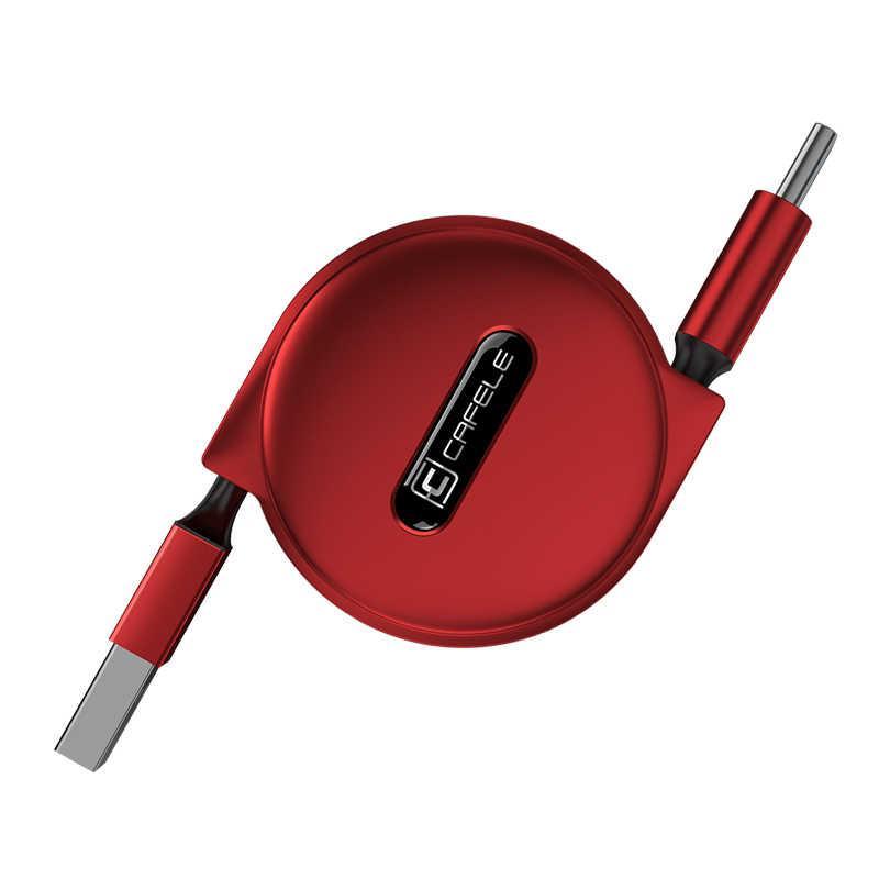 Кабель быстрой зарядки Cafele 2A Type C Red (SB3-25-04)