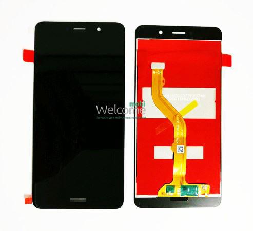 Модуль Huawei Y7 (TRT-LX1) black дисплей экран, сенсор тач скрин Хуавей Хуавэй У7