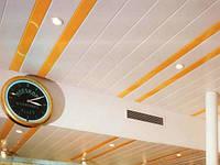 Алюминиевый реечный потолок Минск, фото 1