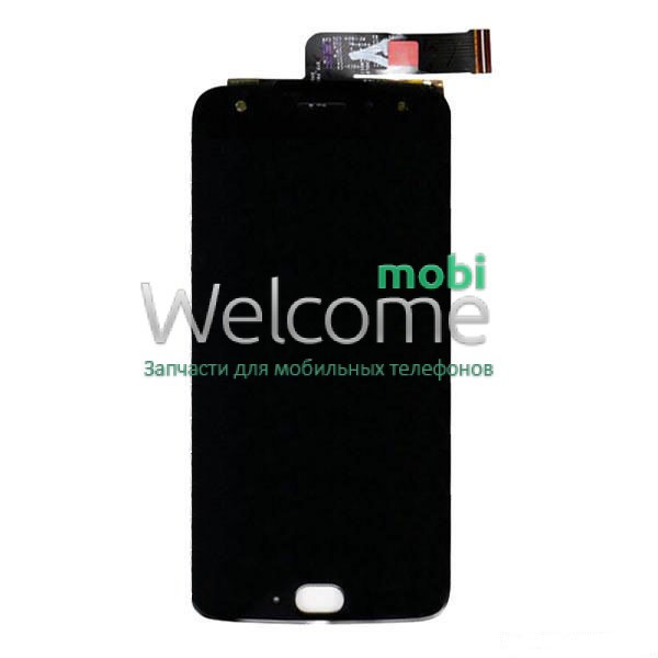 Модуль Motorola XT1900-7 Moto X4 black дисплей экран, сенсор тач скрин Моторола Мото