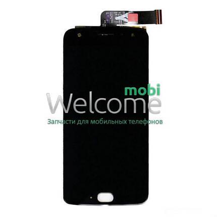Модуль Motorola XT1900-7 Moto X4 black дисплей экран, сенсор тач скрин Моторола Мото, фото 2