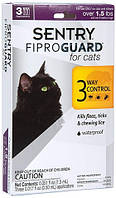 29540 FiproGuard for cats Краплі від бліх, кліщів і вошей, 0,5 мл