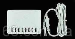 Универсальное зарядное устройство на 8 USB портов 10 ампер