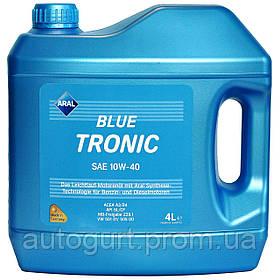 Aral Blue tronic 10w40 4L код 20484