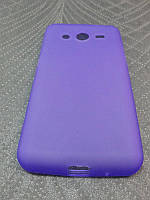 Чехол TPU для Samsung G355 Galaxy Core 2 сиреневый