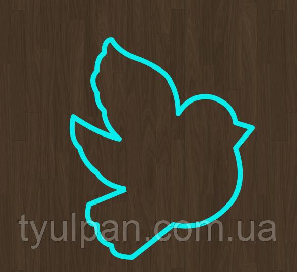 Вырубка голубь 8 см