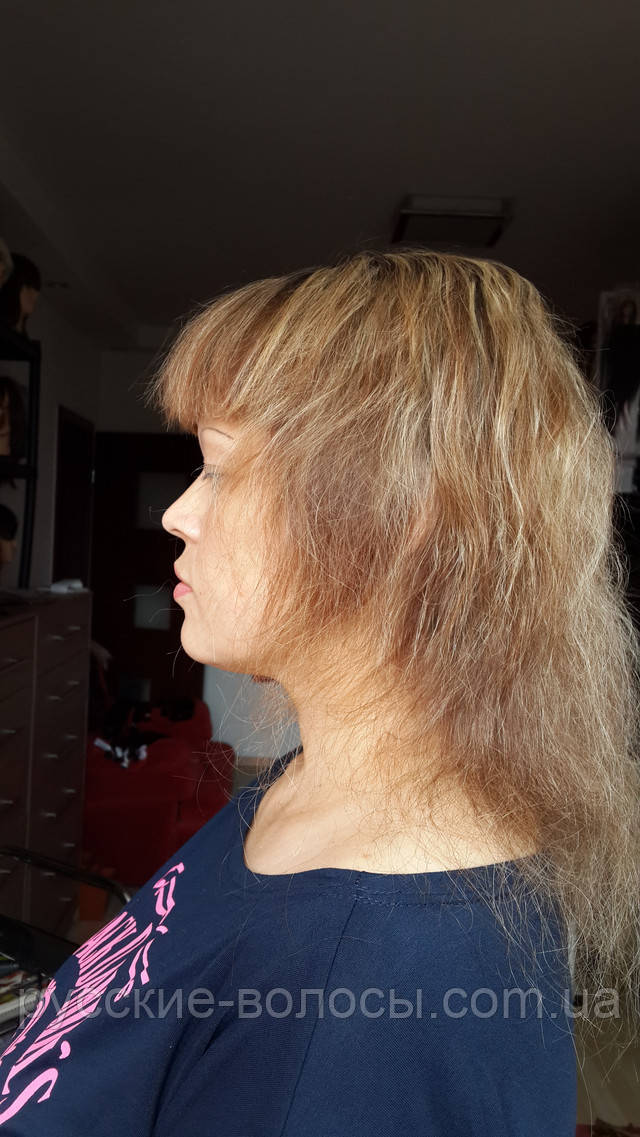 До  наращивания волос.