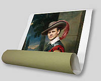 Печать полноцветных репродукций и фотографий формата А1 (синтетический глянцевый холст 240 г/м2)