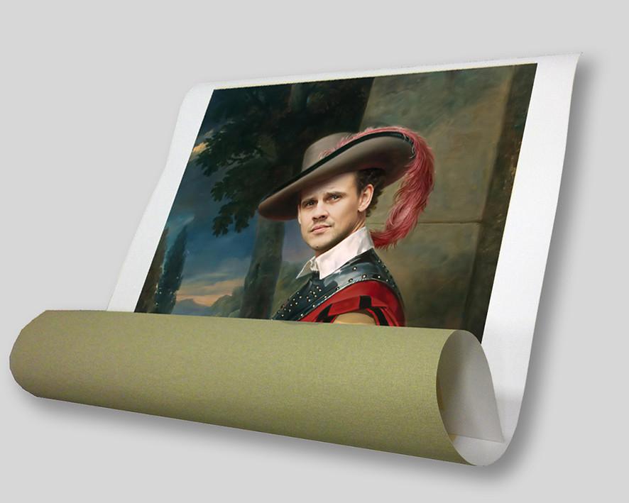 Печать полноцветных репродукций и фотографий формата А2 (хлопковый матовый холст 340 г/м2)
