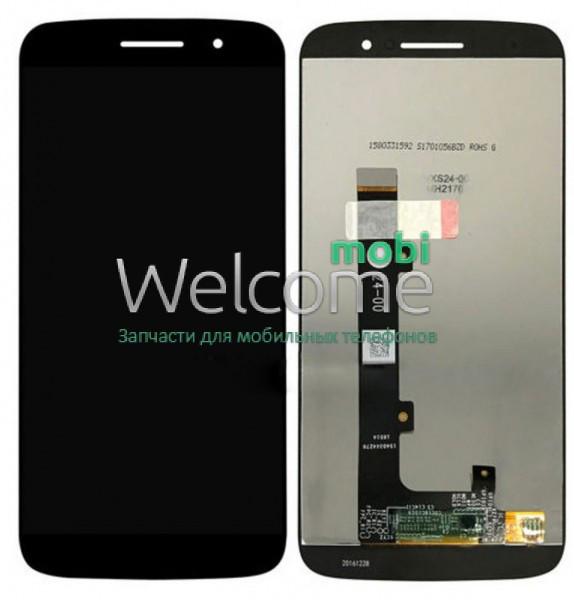 Модуль Motorola XT1662 Moto M,XT1663 black дисплей экран, сенсор тач скрин Моторола Мото