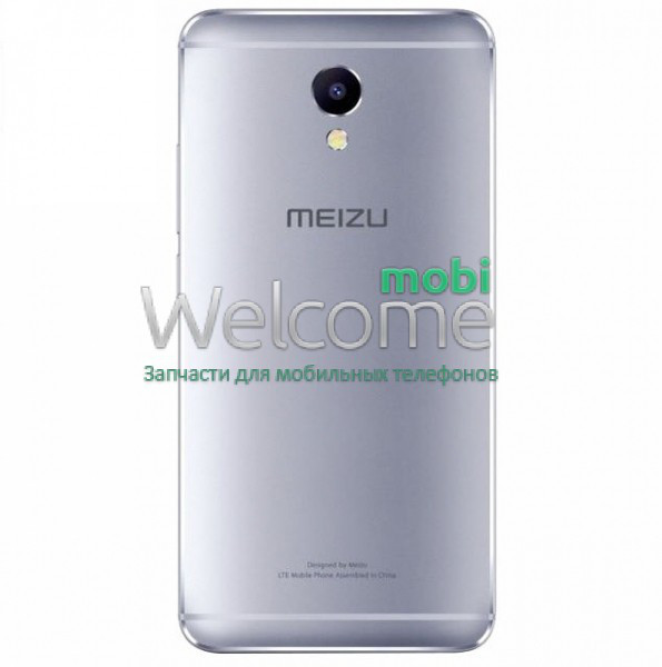 Задняя крышка Meizu M5 Note silver, сменная панель мейзу м5 нот