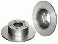 Тормозной диск задний Skoda Superb 02- 4A0615601A
