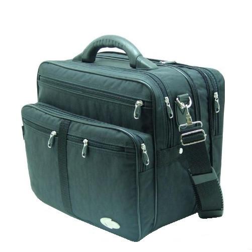 f955d8d6f2c3 Мужская сумка Wallaby 25275 полу-каркас с увеличением объема, чёрная, цена  590 грн., купить в Киеве — Prom.ua (ID#25769799)