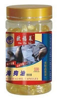 """Капсулы """"Жир морского котика (тюленя)"""" (Seals oil) Ou Fu Lai100шт"""