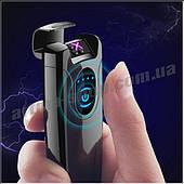 Электроимпульсная USB зажигалка ARTMA PULS Чёрный глянец