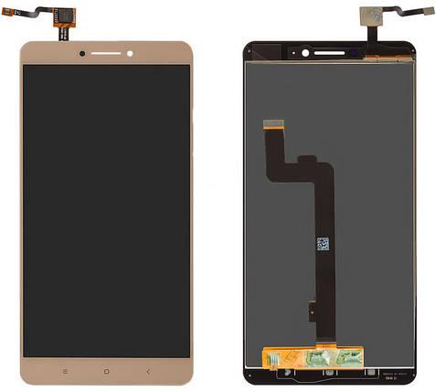 Модуль Xiaomi Mi Max gold (оригинал) дисплей экран, сенсор тач скрин для телефона смартфона, фото 2