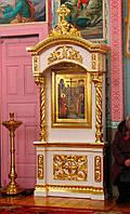 Киот напольный с позолотой высотой 3,1 метра (под заказ), фото 1