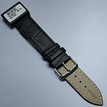 20 мм Кожаный Ремешок для часов CONDOR 342.20.01 Черный Ремешок на часы из Натуральной кожи, фото 2
