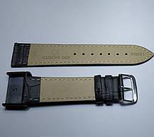 20 мм Кожаный Ремешок для часов CONDOR 342.20.01 Черный Ремешок на часы из Натуральной кожи, фото 3