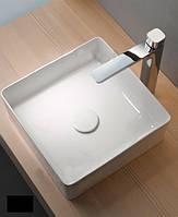 Умывальник накладной квадратный 40 см Newarc Aqua 9440W