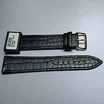 20 мм Кожаный Ремешок для часов CONDOR 526.20.01 Черный Ремешок на часы из Натуральной кожи, фото 3