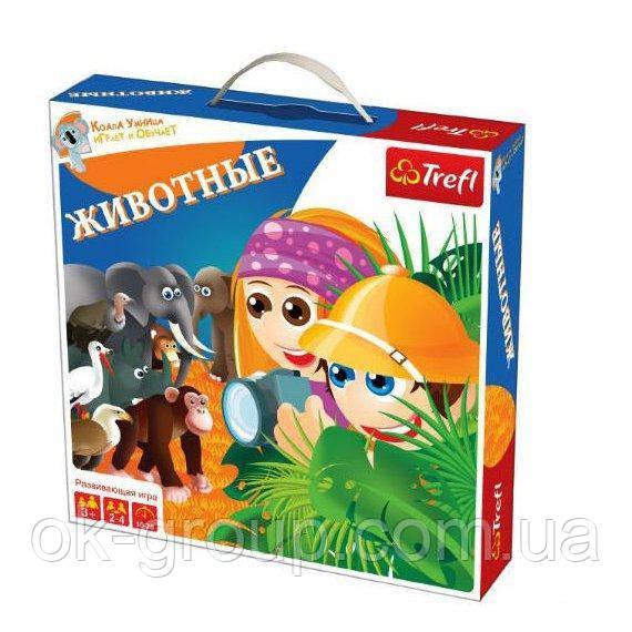 Настольная игра Trefl Животные (01038)