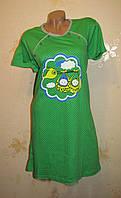 Женская хлопковая ночная рубашка, 50-60 размер
