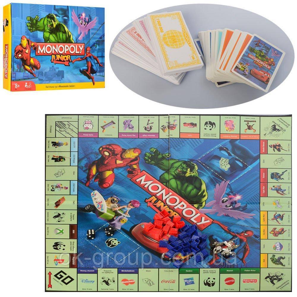 Настольная игра Монополия Junior (M 3802)