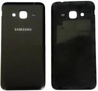 Задняя крышка Samsung Galaxy J3 (J320F, 2016) black, сменная панель самсунг