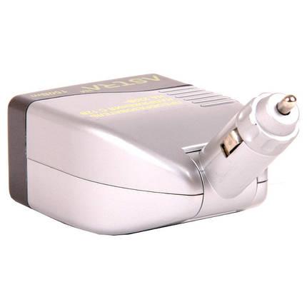 Автомобильный инвертор Astra, 150W, 12V -> 220V, USB (KV-150 USB), фото 2