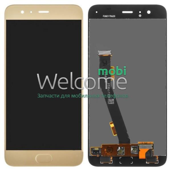 Модуль Xiaomi Mi6 gold дисплей экран, сенсор тач скрин Сяоми Ксиоми Ми 6