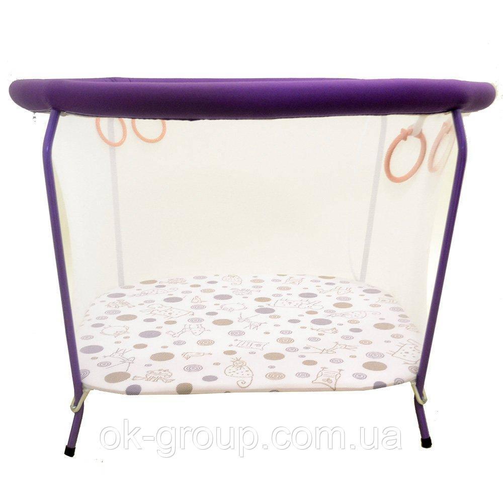 Манеж OMMI Euro New Фиолетовый