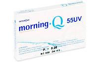 Контактные линзы на месяц  Morning Q 55 UV