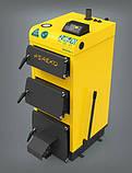 Твердотопливный котел польского производства PEREKO KSW Alfa Plus 30 кВт на электронном управлении, фото 2