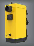 Твердотопливный котел польского производства PEREKO KSW Alfa Plus 30 кВт на электронном управлении, фото 3