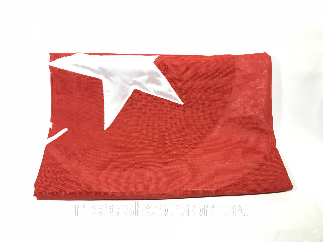 Флаг Турции (Аппликация) - (1м*1.5м)