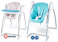 Крісло-гойдалка Lionelo Milan 2в1 Turquoise