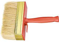 Кисть-макловица, 40 х 140 мм, натуральная щетина, пластмассовый корпус, пластмас. ручка. MATRIX