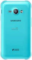 Задняя крышка Samsung J110H Galaxy J1 green orig, сменная панель самсунг